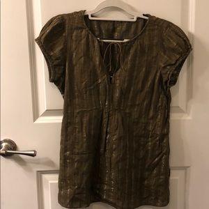 Calvin Klein medium sheer blouse